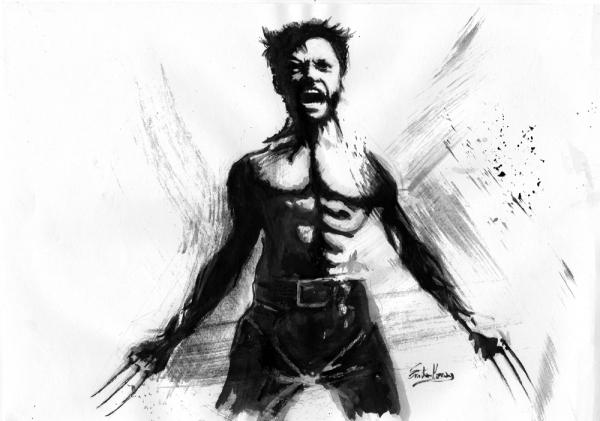 Hugh Jackman por ateyo